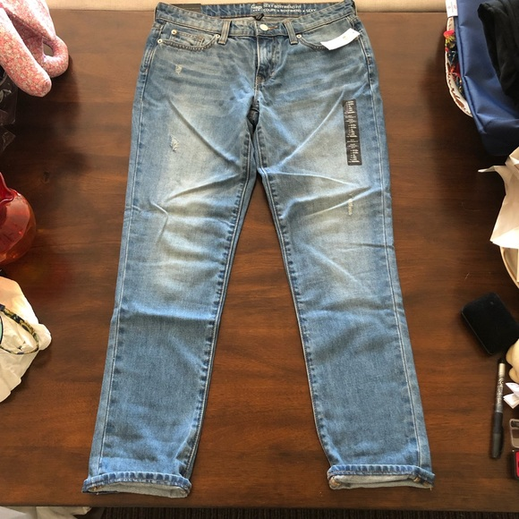 GAP Denim - Gap Sexy Boyfriend fit distressed Jeans NWT